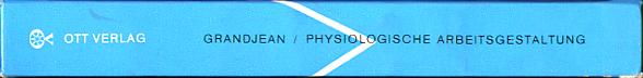 Physiologische Arbeitsgestaltung