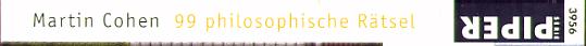 99 philosophische Rätsel.
